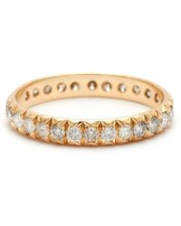 Anna Sheffield | Attelage French Cut Pave Band | Lyst