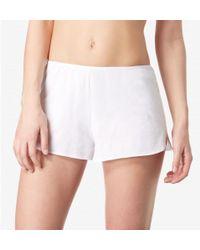 Sunspel - Women's French Knicker In Superfine Cotton In White - Lyst