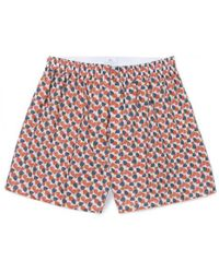 Sunspel - Men's Liberty Printed Cotton Boxer Shorts In Winter Petals - Lyst