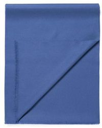 Sunspel - Extra Fine Merino Wool Scarf In Mid Blue - Lyst