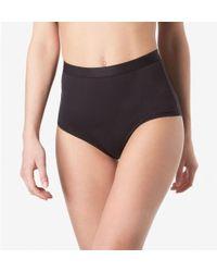 Sunspel - Women's Stretch Cotton Gym Pant In Black - Lyst
