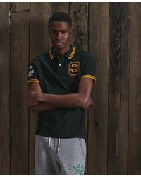 Superdry Boston Superstate Polo Shirt - Green