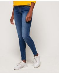 Superdry Alexia Jeggings - Blue