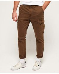 Superdry Surplus Goods Cargo Trousers - Brown