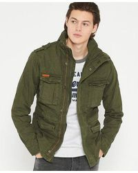 Superdry Classic Rookie Military Jacket - Green