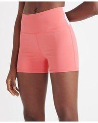 Superdry Sport Women's Training Elastic Shorts - Pink