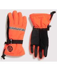 Superdry Ultimate Snow Rescue Gloves - Orange