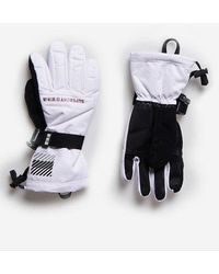 Superdry Sport Guantes Snow Rescue - Blanco