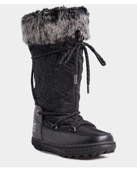 Superdry Stealth Snow Boots - Black