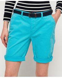 Superdry International City Shorts - Blue