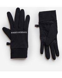 Superdry Sport Snow Glove Liners - Black
