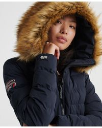 Superdry Arctic Puffer Jacket - Blue
