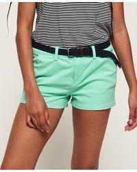Superdry International Hot Shorts - Blue