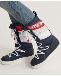 Superdry Chamonix Snow Boots - Blue