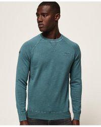 Superdry - Garment Dye L.a. Crew Jumper - Lyst
