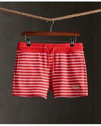 Superdry Orange Label Classic Shorts - Red