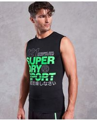 Superdry - Active Graphic Tank Top - Lyst