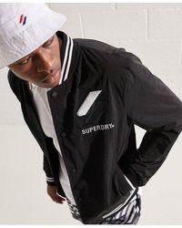 Superdry Chaqueta Varsity - Negro