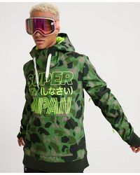 Superdry Snow Tech Hoodie - Green