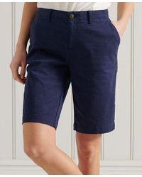 Superdry City Chino Shorts - Blue