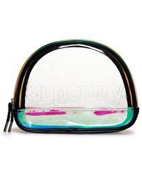 Superdry Jelly Vanity Bag - Multicolor
