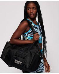 Superdry Sports Duffle Bag - Black