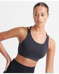 Superdry Sport Women's Flex Cross Back Bra - Black