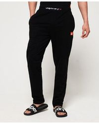 Superdry Organic Cotton Sd Laundry Trousers - Grey