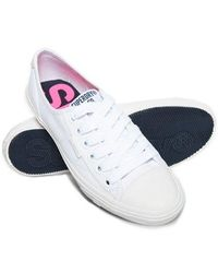 Superdry Low Pro Trainers - White