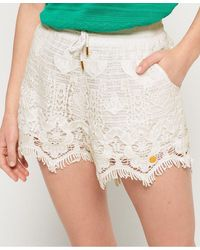 Superdry Mandy Lace Shorts - Multicolour
