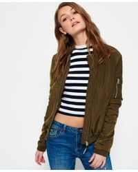 Superdry - Carrie Bomber Jacket - Lyst