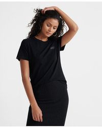 Superdry Orange Label Elite Crew Neck T-shirt - Black