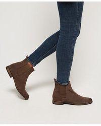 Superdry Millie-lou Suede Chelsea Boots - Multicolor