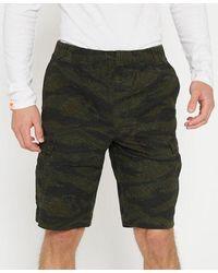 Superdry Pantalones cortos cargo Worldwide - Verde