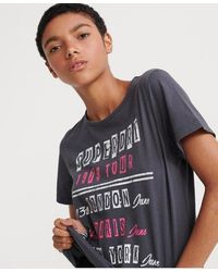 Superdry Womens Kayla Cropped Boxy Shirt