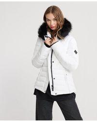 Superdry Icelandic Jacket - White