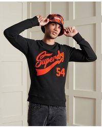 Superdry - Limited Edition College Chenille Sweatshirt - Lyst
