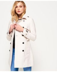 Superdry - Belle Trench Coat - Lyst