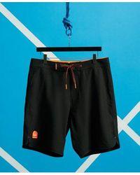 Superdry Deepwater Board Shorts - Black