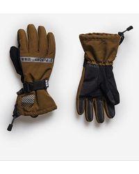 Superdry Sport Guantes Snow Rescue - Verde