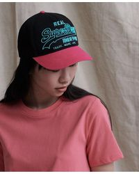 Superdry Premium Goods Outline Cap - Pink