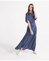 Superdry Edit Maxi Dress - Blue
