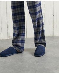 Superdry Slipper Mule - Blue