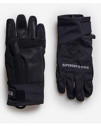 Superdry Sport Guantes Snow - Negro