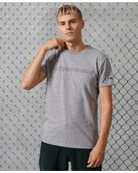 Superdry - Sportstyle Embossed T-shirt - Lyst