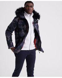 Superdry Mountain Rookie Aviator Parka Jacket - Grey