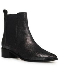 Superdry Zoe Quinn High Chelsea Boots - Black