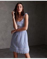 Superdry Womens Premium Sequin Cami Dress
