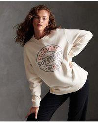 Superdry Workwear Crew Sweatshirt - Multicolour