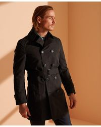 Superdry Trench-coat Iconic - Noir
